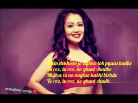 Neha kakkar : Halka Halka Unplugged With Lyrics ...FANNEY KHAN ....Aishwarya Rai Bc....