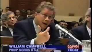 Rep. Waxman Questions Big Tobacco.