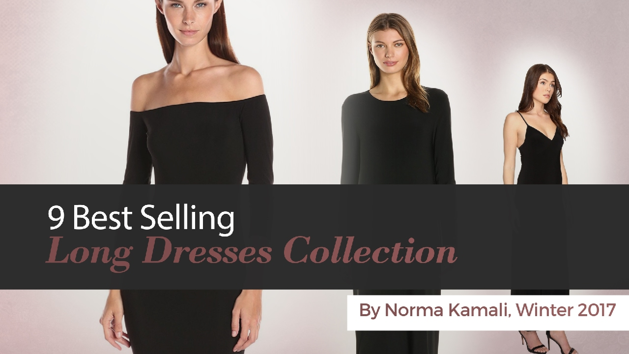18f9945734a 9 Best Selling Long Dresses Collection By Norma Kamali