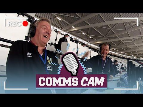STAT MAN CAMPBELL! | COMMS CAM | West Ham v Burnley 2019/20