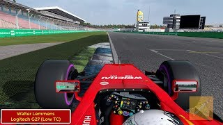 Hockenheim Onboard F1 2018 German GP (Automobilista) 1080p60HD