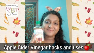 5 hacks of Apple Cider Vinegar🍎that you should know before buying|Myths|Solutions|POULAMI DEBNATH..