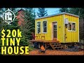 She Built Her Own TINY HOUSE Village and