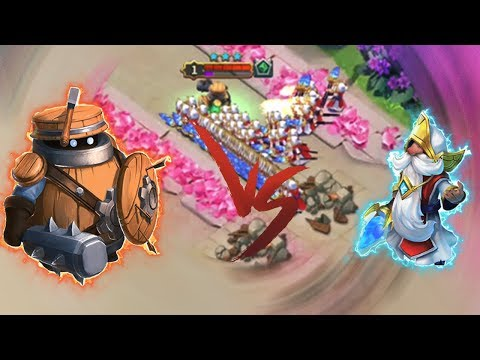 Marauder 13/13 | VS | 175 Pyromancers | INTENSE BATTLE | CASTLE CLASH