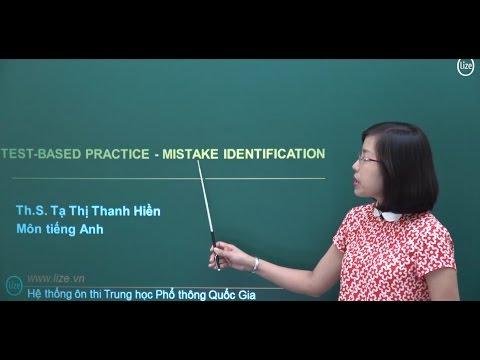 Hướng dẫn giải bài tập Tìm từ đồng nghĩa, từ trái nghĩa tiếng Anh - Cô Tạ Thị Thanh Hiền