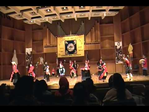 Festival of Native Arts Tlingit and Haida Dancers of Anchorage 2013