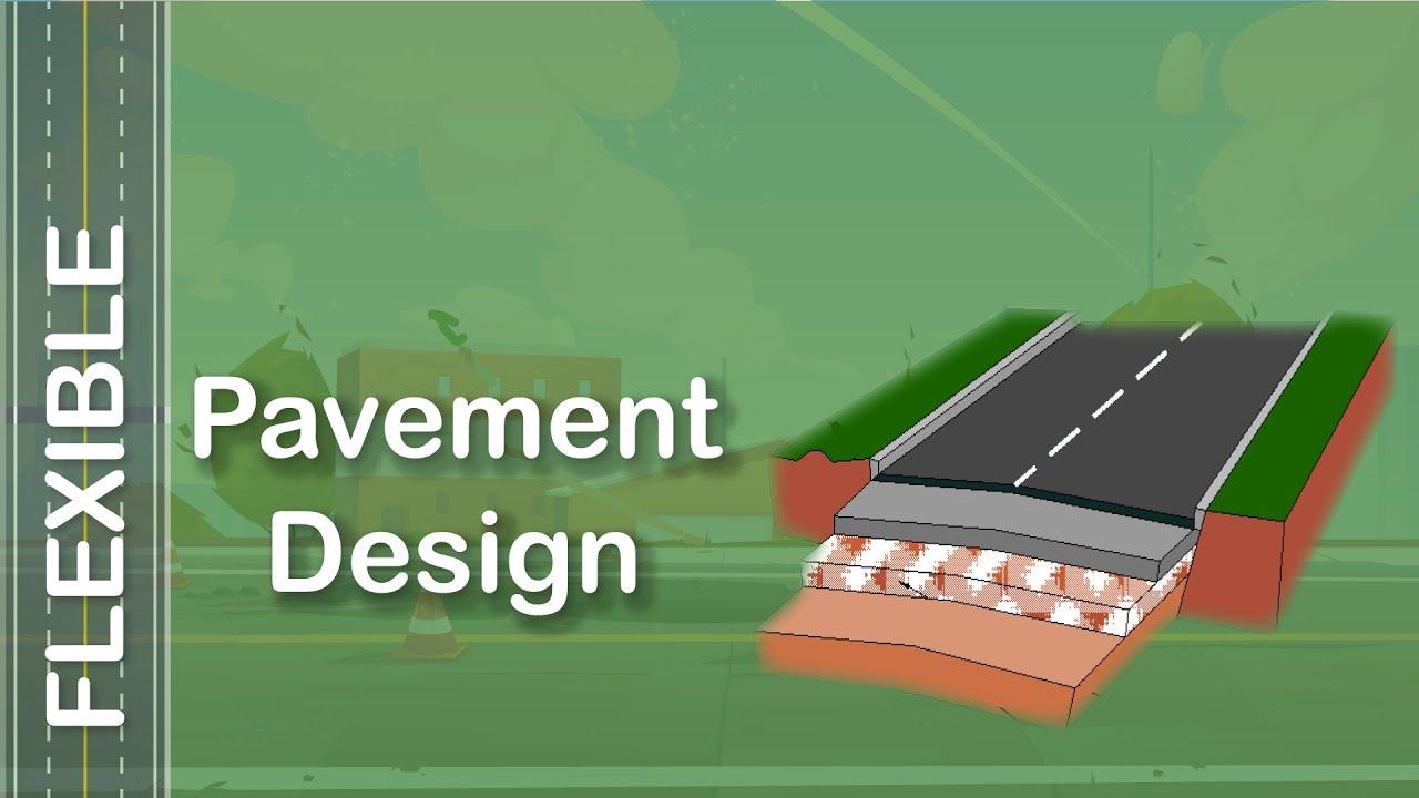 Pavement Design Software Flexible Pavement Youtube