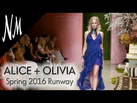 Alice + Olivia: Spring 2016 Runway Show | Neiman Marcus