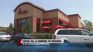 Chick-fil-A announces plans for Nevada locations