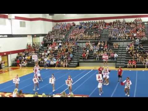 Nixa High School Cheer Regionals July 15  2014