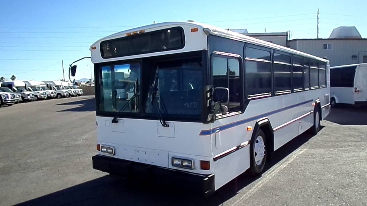 Used Bus For Sale 2001 Gillig Phantom Transit Bus Sales