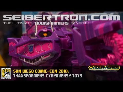 Transformers Cyberverse toys shown at SDCC 2018