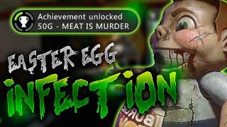 Exo-Zombies: Infection | Cómo hacer el Easter Egg (Logro/Trofeo-LA CARNE ES MUERTE)