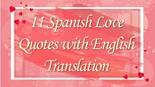 When i love you in spanish doesn't do it anymore, learn these romantic phrases and quotes with english translation. 11 lov...