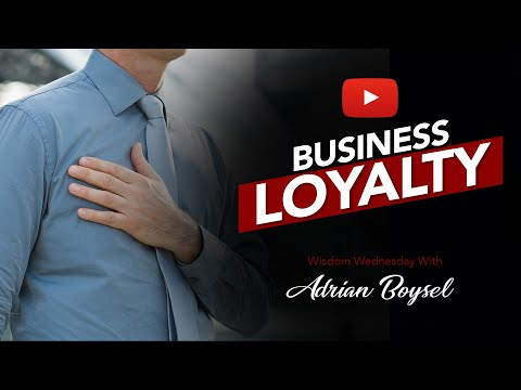 THERE IS NO LOYALTY IN BUSINESS EXCEPT MONEY! How to Find Loyal Clients