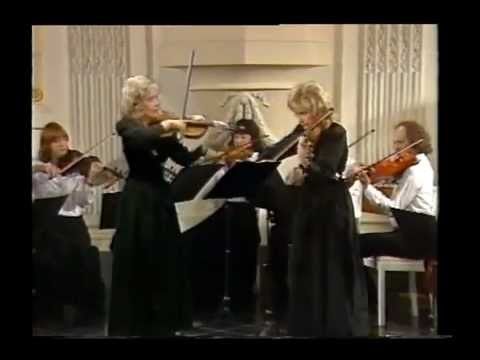 Lola Bobesco - JS Bach - Concerto for 2 violins