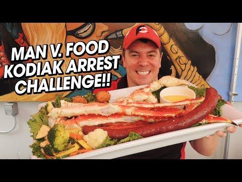 Humpy's Kodiak Arrest Alaskan King Crab Legs Challenge!!