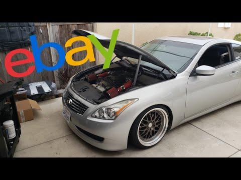 eBay Intakes Install | Infiniti G37