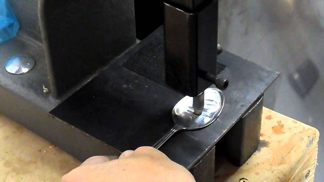 The flatwearable metal stamping tool youtube for Metal stamping press for jewelry