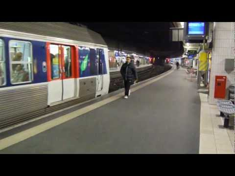 Paris Metro, RER and SNCF Trains 31 January 2012