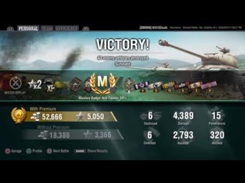 World Of Tanks PS4 BatChat-25T Ace Tanker