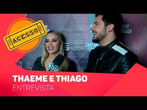 Acesso entrevista Thaeme e Thiago - TV SOROCABA/SBT