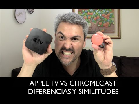 Apple TV VS Chromecast diferencias y similitudes