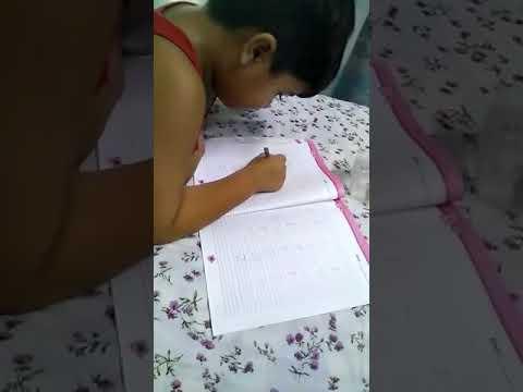 Homework pressure.. baccha hu main apaka