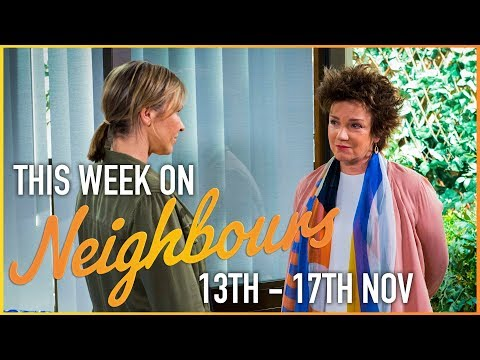 This Week on Neighbours (13th - 17th November)