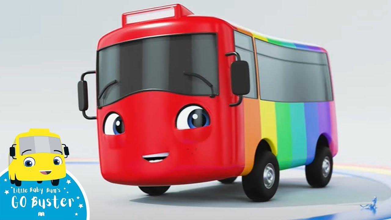 Colors Rap - Go Buster Songs   Best Baby Songs   Kids Cartoon   Nursery Rhymes   Little Baby Bum