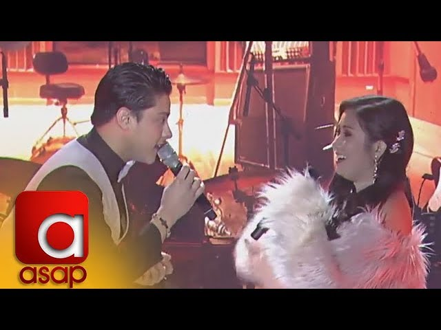 """ASAP: Daniel Padilla and Yeng Constantino sing """"Fly Me To The Moon"""""""