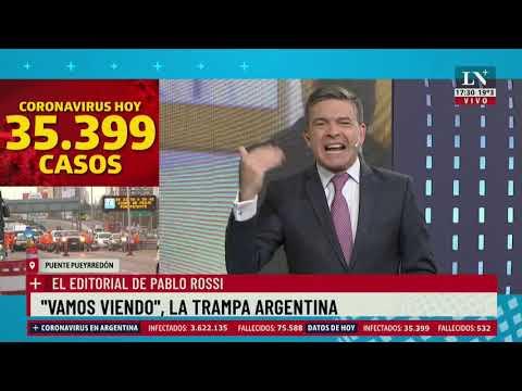 """""""Vamos viendo"""" la trampa Argentina. El editorial de Pablo Rossi"""