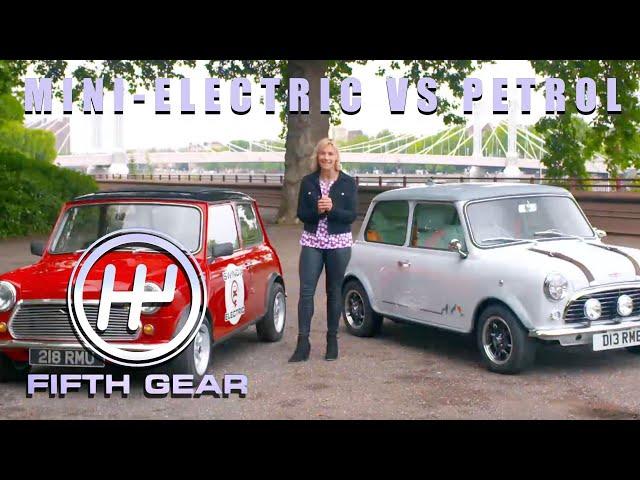 The Classic Mini - Electric VS Petrol | Fifth Gear