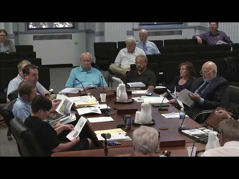 September 19, 2017 | Mayor & Council Meeting: Work Session