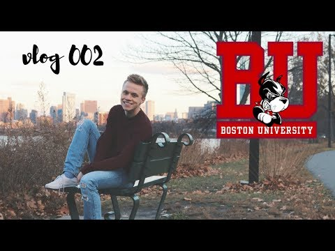 vlog 002 // a day in my life at boston university!