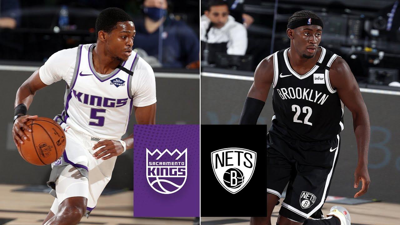 Sacramento Kings vs. Brooklyn Nets [FULL HIGHLIGHTS] | 2019-20 NBA Highlights