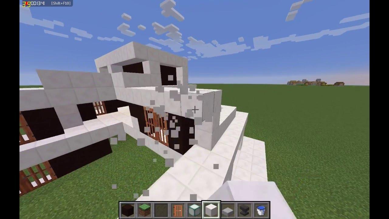 Tuto Maison De Luxe Minecraft Part 1 Youtube