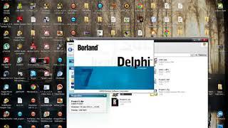 Урок_1 Программирование на Delphi 7. Урок (1)