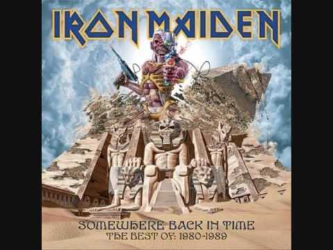 Iron Maiden Somewhere Back In Time The Phantom Of The Opera
