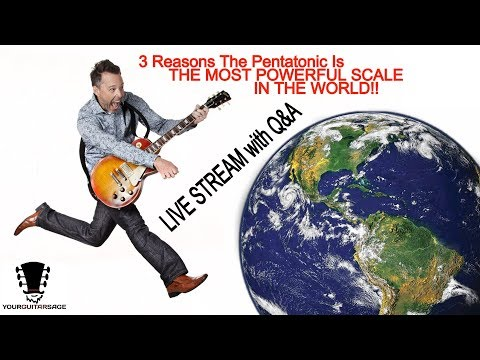 3 Reasons Why the Pentatonic is the Most Powerful Scale in the World and How to Use it TODAY