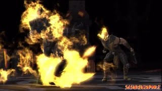Mortal Kombat Vs DC Universe - Scorpion - Max Difficulty -  No Matches  Lost (HD)