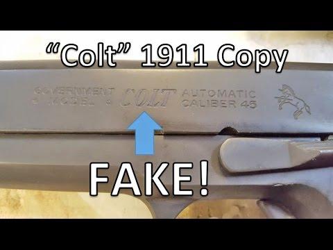 Fake Colt 1911 Copy