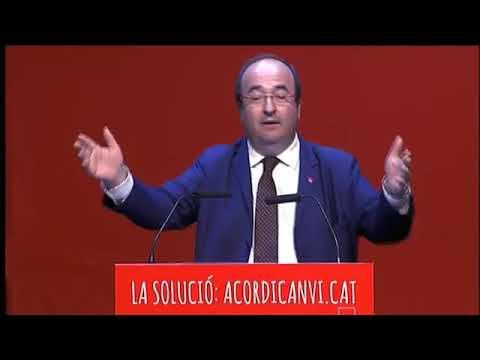 Intervenció Miquel Iceta en el Consell Municipal Obert del PSC