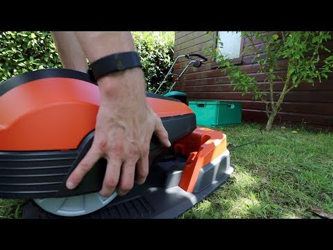 Robot Mower FINALLY does something