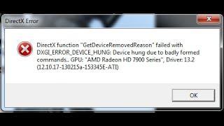 Battlefield 4 Direct X error fix! for  Windows 10 2015