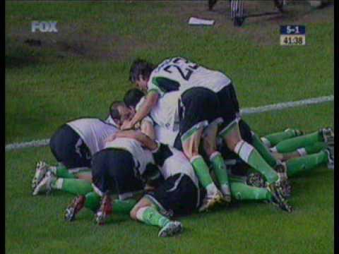 Racing Santander 5-1 Atletico Madrid (Zigic goal)
