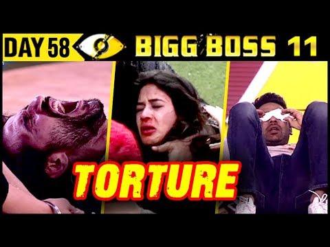 Hina Khan TORTURES Bandgi Kalra | Bigg Boss 11 Day 58 | 28th November 2017 Full Episode Update