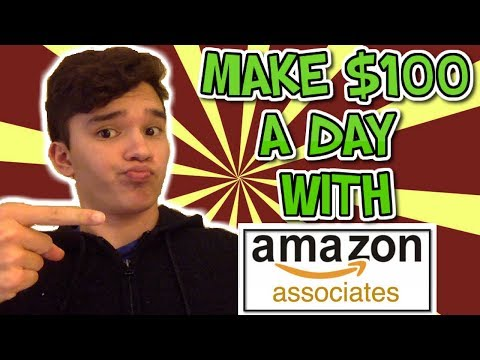 How To Make $100 PER DAY With Amazon Affiliate Marketing Tutorial For Beginners Step By Step thumbnail
