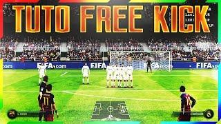 TUTO FIFA 17 - COUP FRANC ENROULE - TUTO CURVE FREE KICK