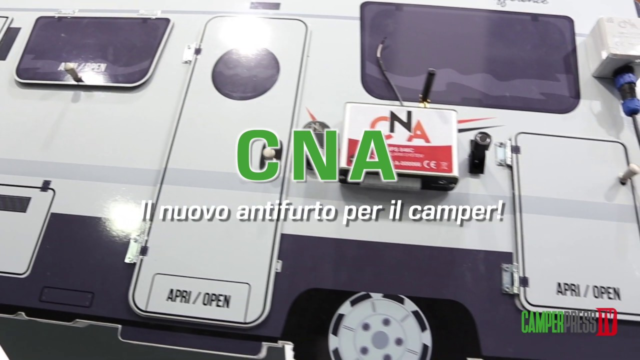 17 Cna Il Nuovo Antifurto Per Il Camper Camperpress
